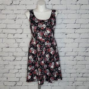 Torrid Skulls & Roses Dress